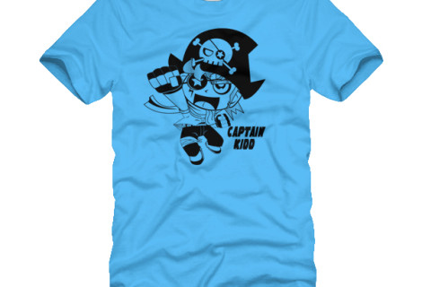 Captain Kidd T-shirt concept