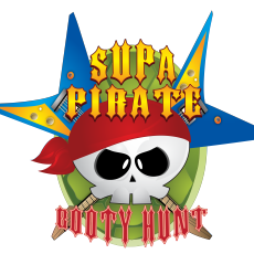 Supa Pirate Booty Hunt Logo