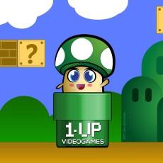 1UP Mascot